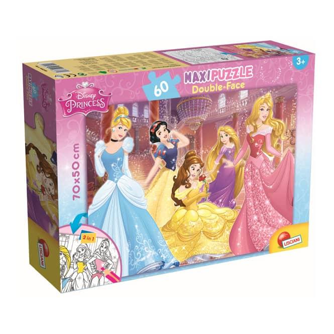 Disney Princess - Maxi Puzzle - Double Face - 2-in-1