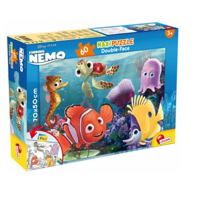 Disney Findet Nemo - Maxi Puzzle - Double Face - 2-in-1