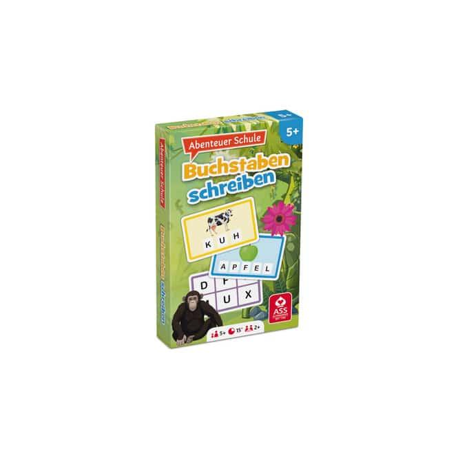 Kartenspiel Buchstaben schreiben - Abenteuer Schule