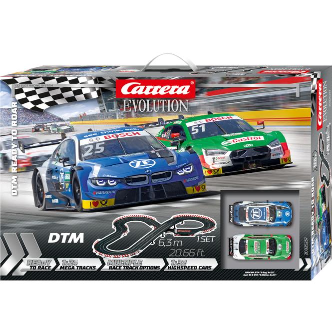 Carrera Evolution - Rennbahn - DTM Ready to Roar