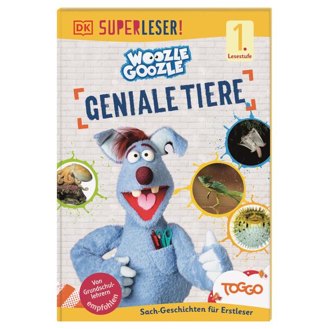 SUPERLESER! Woozle Goozle - Geniale Tiere - 1. Lesestufe