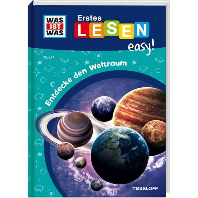 WAS IST WAS - Erstes Lesen easy! - Band 4 - Entdecke den Weltraum