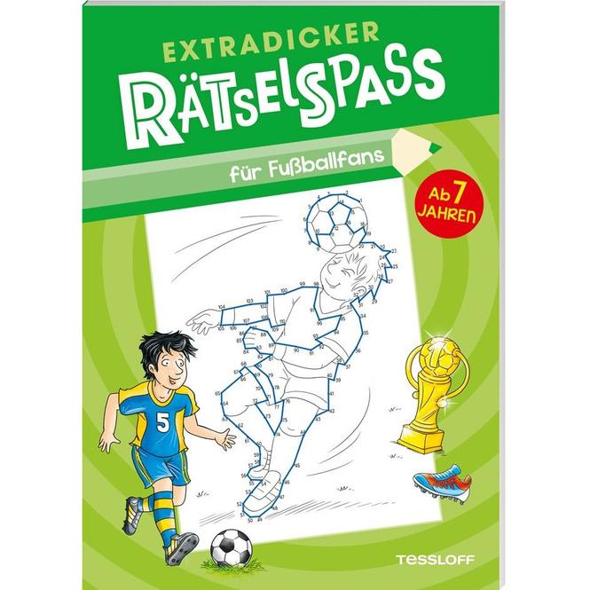 Extradicker Rätselspaß für Fußballfans