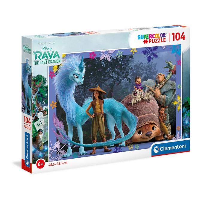 Puzzle - Raya und der letzte Drache - 104 Teile