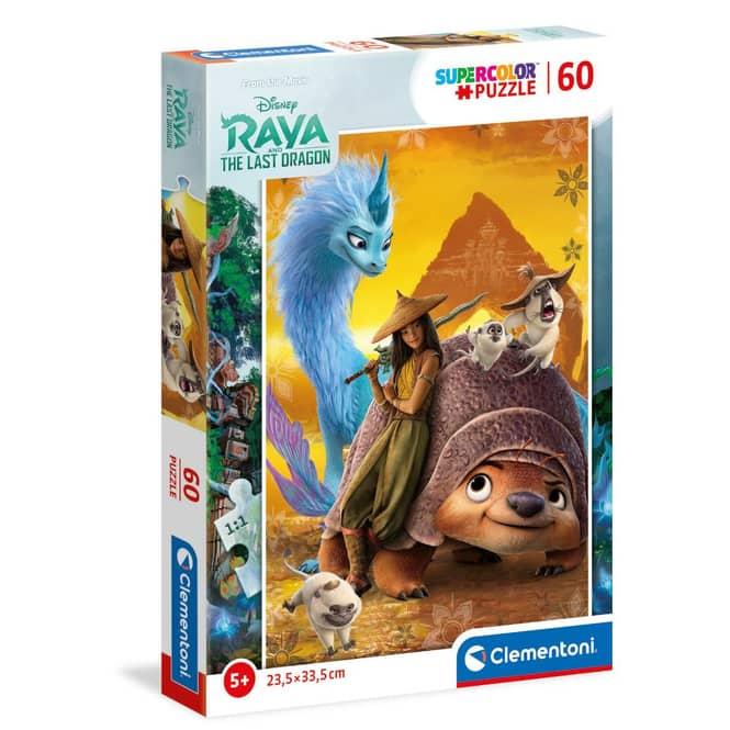 Puzzle - Raya und der letzte Drache - 60 Teile