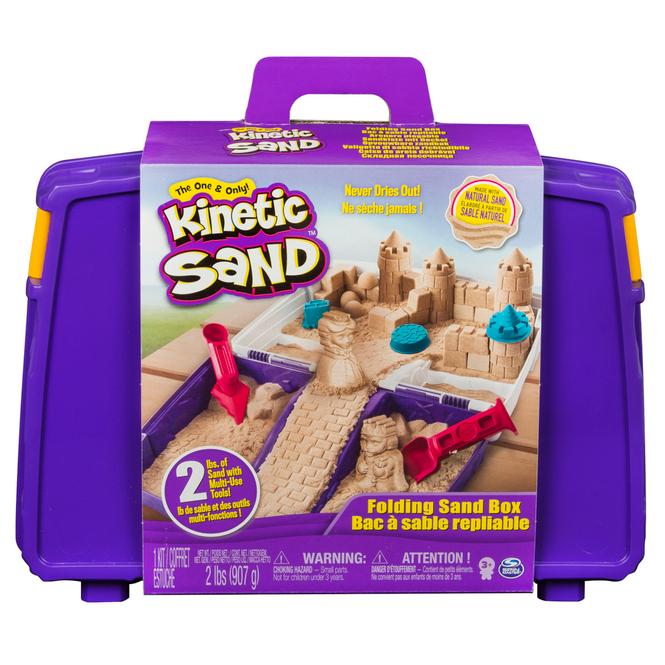 Kinetic Sand - Folding Sandspiel Koffer