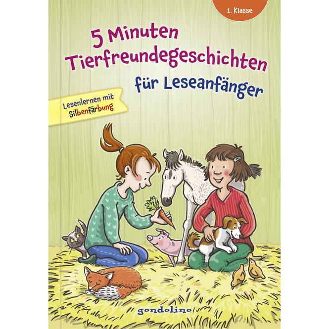 5 Minuten Tierfreundegeschichten für Erstleser