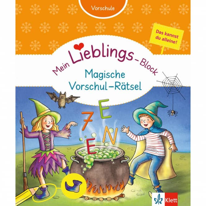 Mein Lieblings-Block - Magische Vorschulrätsel