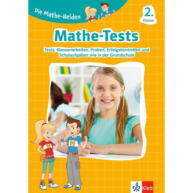 Mathe-Tests - 2. Klasse - Die Mathe Helden