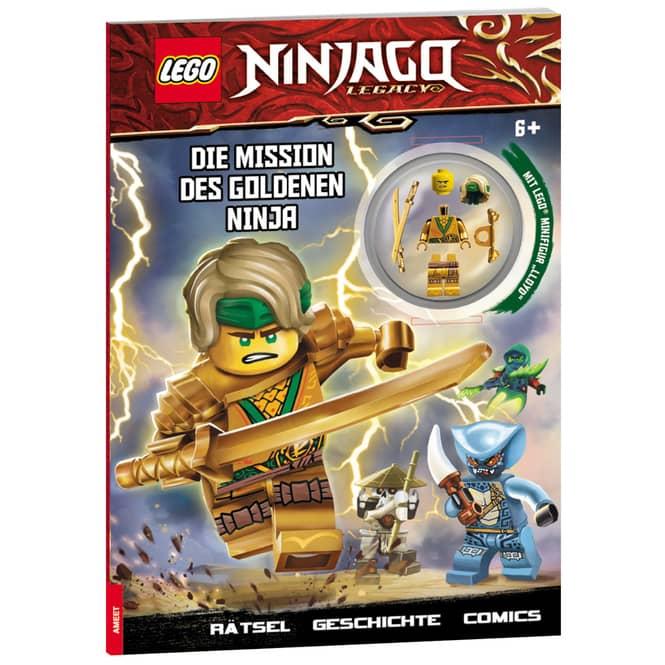 LEGO® NINJAGO® - Die Mission des goldenen Ninja