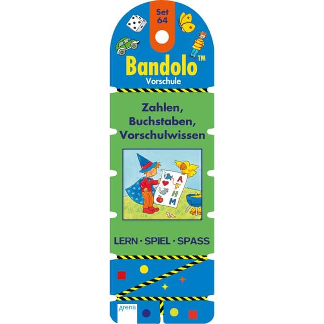 Bandolo - Set 64 - Zahlen, Buchstaben, Vorschulwissen