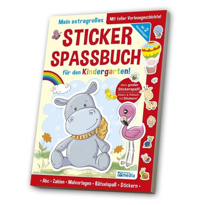 Mein extragroßes Sticker Spassbuch für den Kindergarten