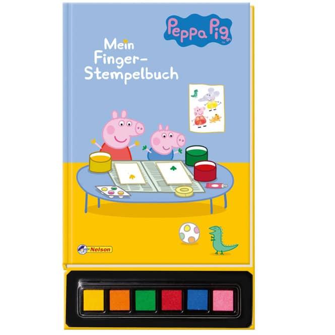 Peppa Wutz - Mein Finger-Stempelbuch