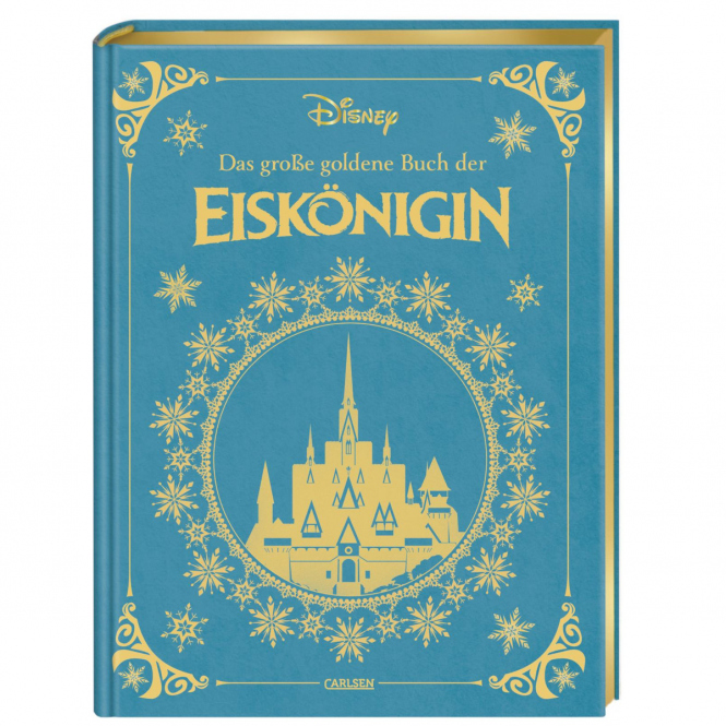 Das große goldene Buch der Eiskönigin