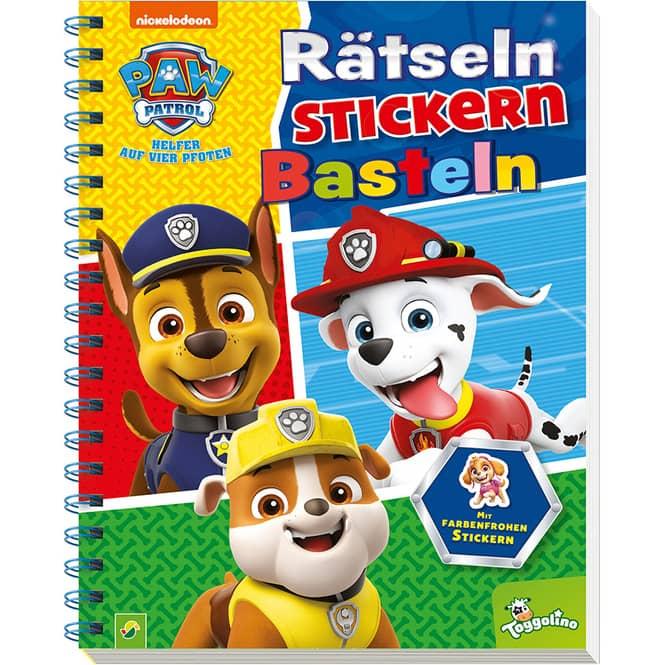 PAW Patrol - Rätseln, Stickern, Basteln