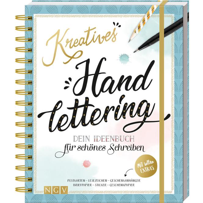 Kreatives Handlettering - Dein Ideenbuch für schönes Schreiben