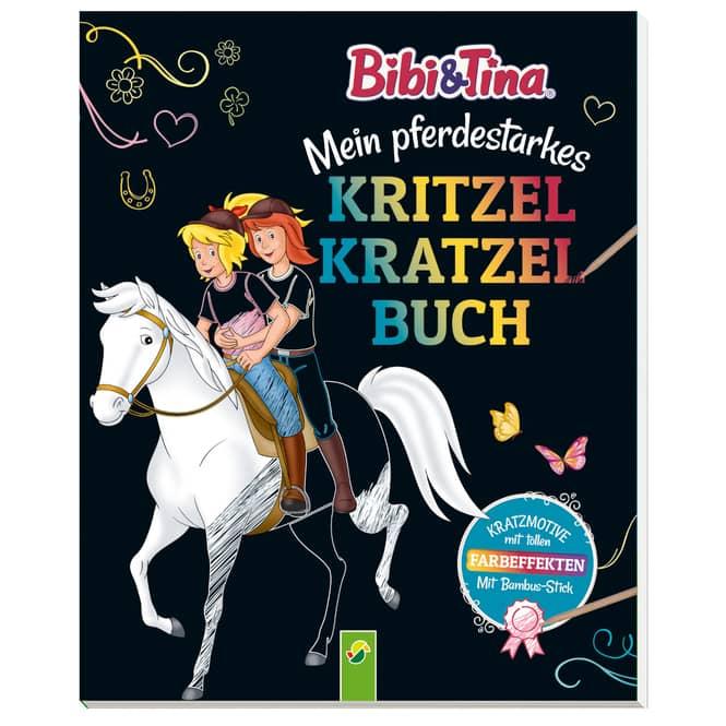 Bibi & Tina - Kritzel-Kratzel-Buch