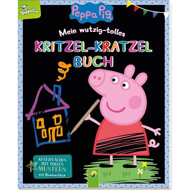 Peppa Wutz - Kritzel-Kratzel-Buch