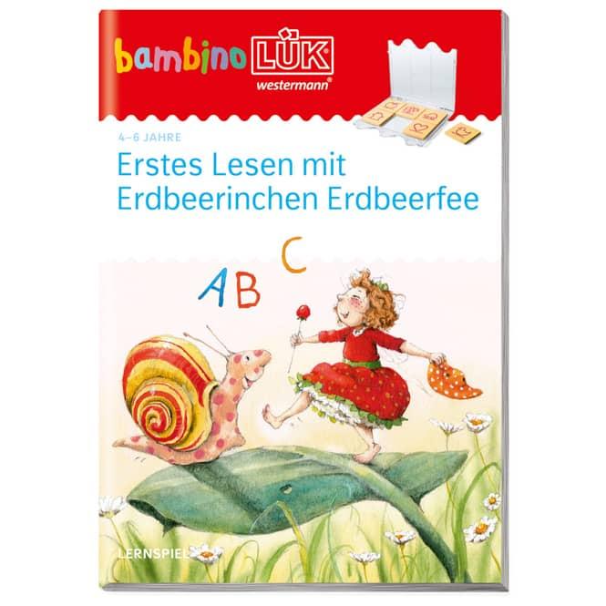 bambinoLÜK - Erstes Lesen mit Erdbeerinchen Erdbeerfee