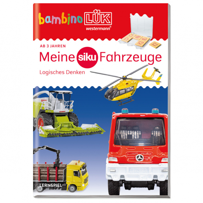 bambinoLÜK -Meine Siku Fahrzeuge - Logisches Denken