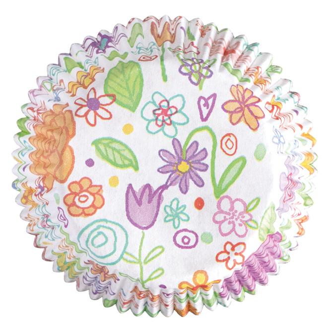 Muffinförmchen - Blumenwiese - 60 Stück