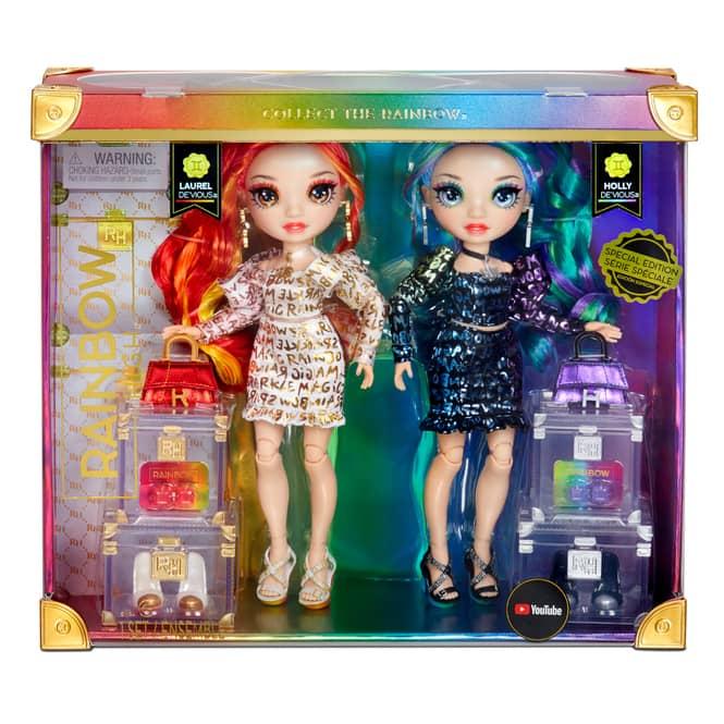 Rainbow High - Fashion Puppe - Zwillinge