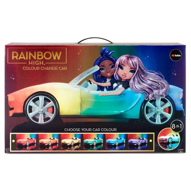 Rainbow High - Farbwechsel Auto