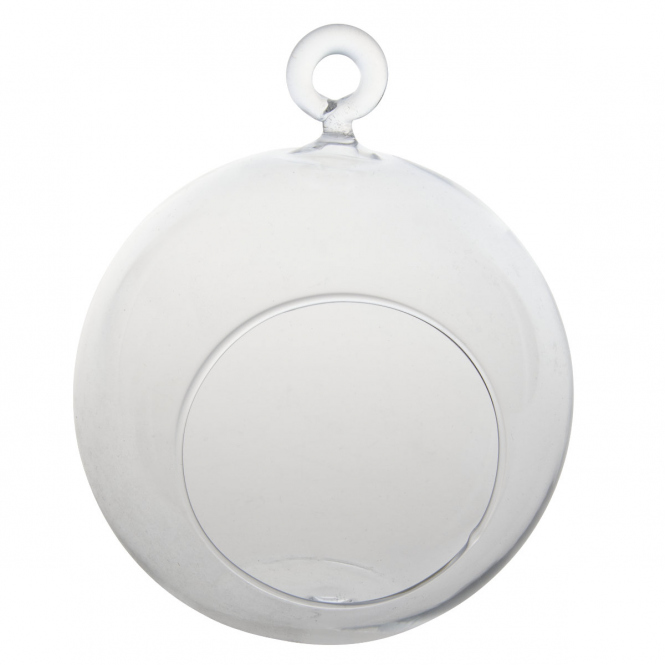 Dekohänger - Kugel - aus Glas - Ø = ca. 14 cm