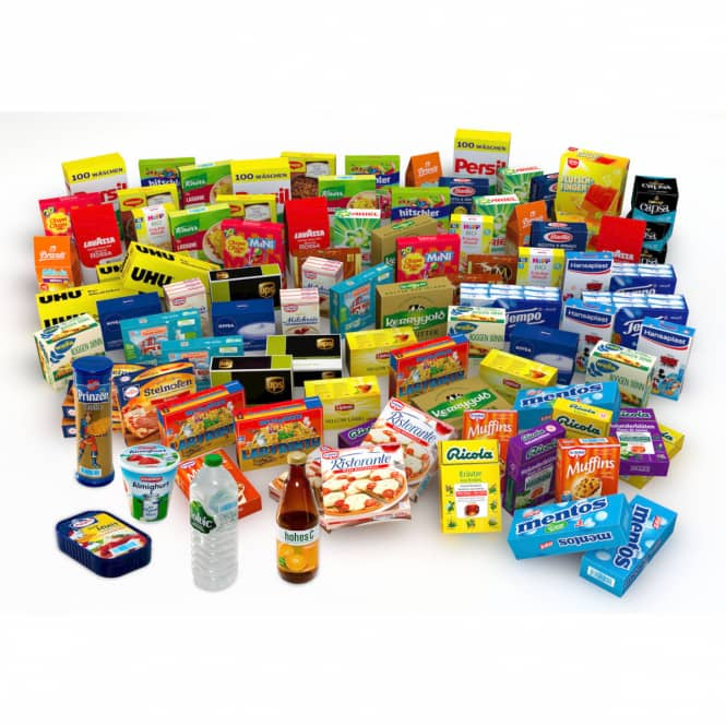 Tanner - Kaufladen-Set - 95 Teile