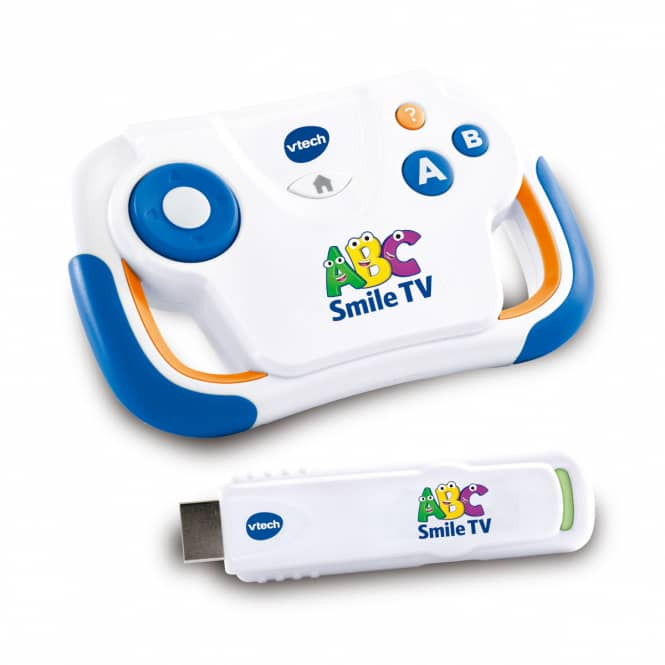 VTech - ABC Smile TV - TV-Lernkonsole - weiß