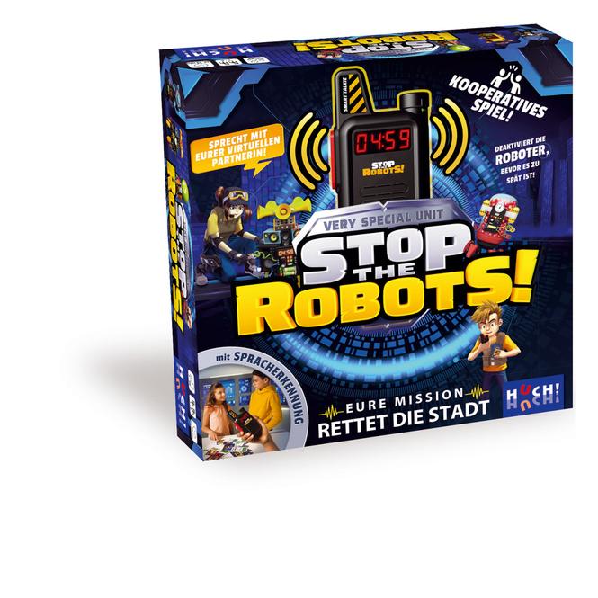 Stop the Robots - Eure Mission - Rettet die Stadt