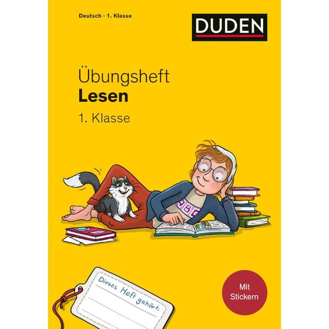 DUDEN - Übungsheft - Lesen - 1. Klasse