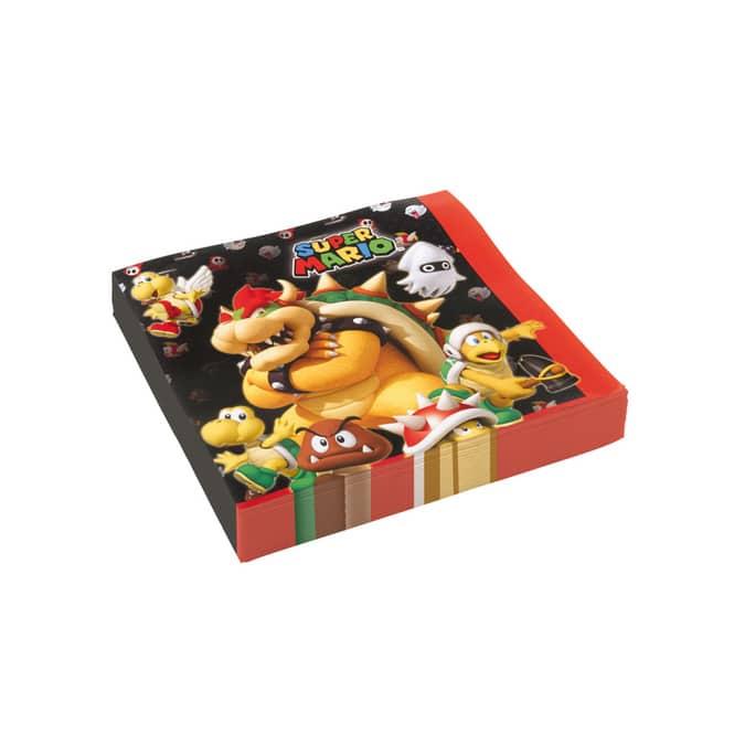 Super Mario - 20 Servietten