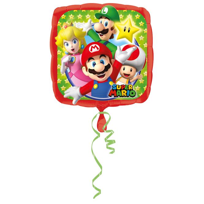 Super Mario - Folienballon - ca. 43 cm
