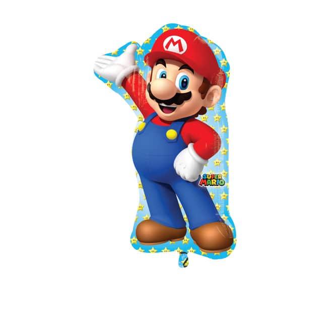 Super Mario - Folienballon - ca. 55 x 83 cm