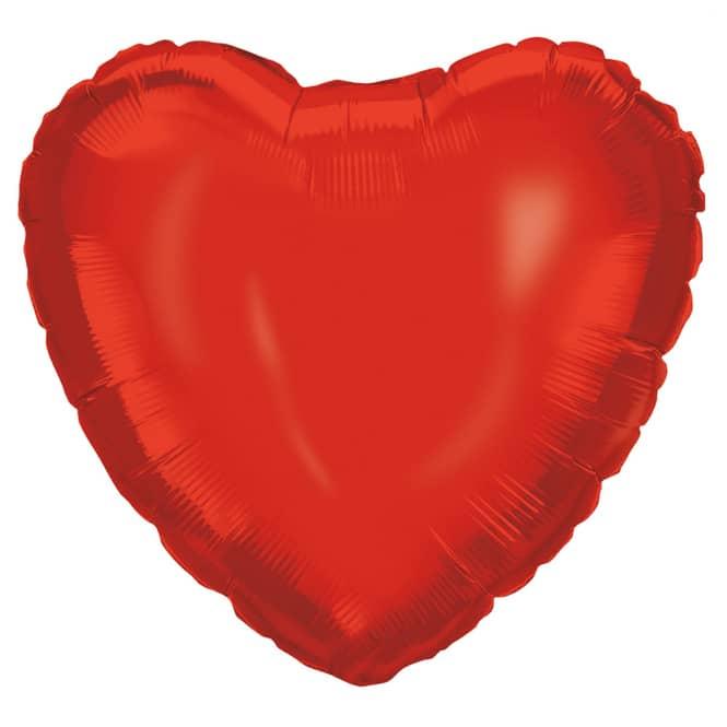Folienballon - Herz - ca. 46 cm