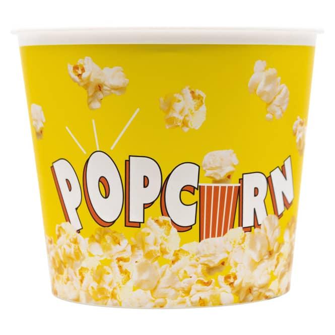 Popcorneimer - ca. 14 x 17 cm