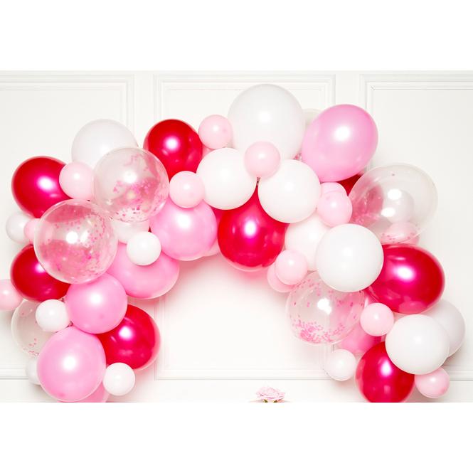 DIY Ballongirlande - Pink - 70 Stück