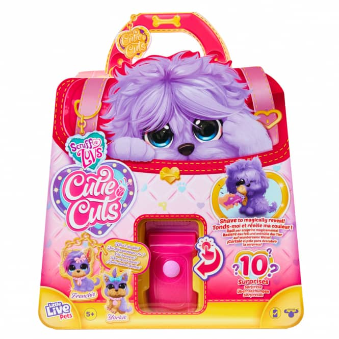 Little Live Pets - Scruff-a-Luvs - Cutie Cuts - lila