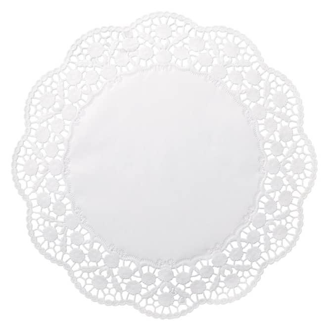 Tortenspitzen - Ø = ca. 36 cm - 12 Stück
