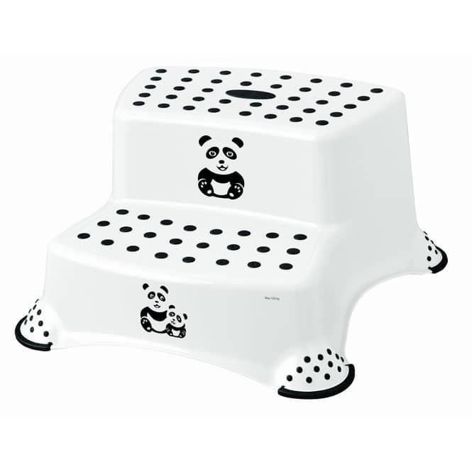 Tritthocker - Igor Panda - weiß/schwarz