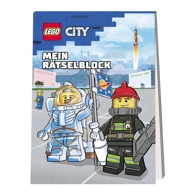 LEGO® CITY® - Rätselblock für Stadthelden