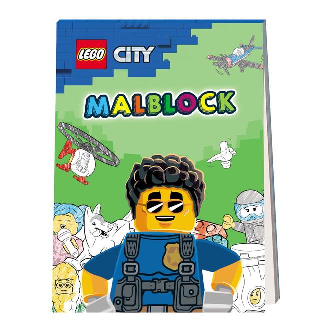 LEGO® CITY® - Malblock