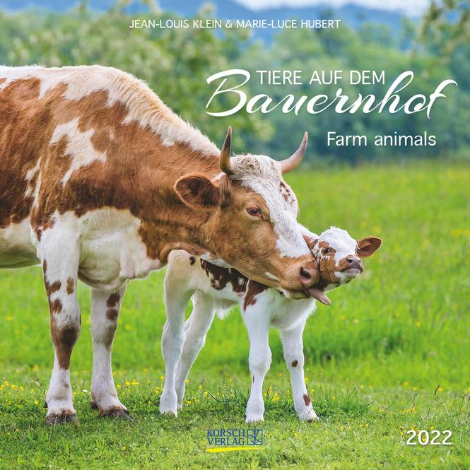 Kalender - Tiere auf dem Bauernhof 2022