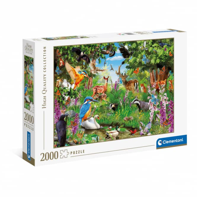 Puzzle - Phantastischer Wald - 2000 Teile