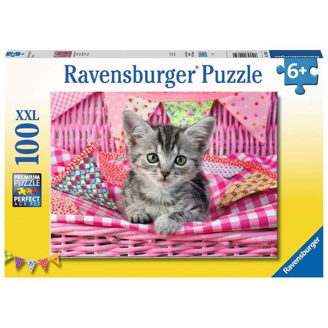 Puzzle - Niedliches Kätzchen - 100 XXL Teile