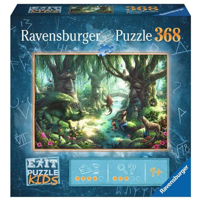EXIT Kids Puzzle - Der magische Wald - 368 Teile