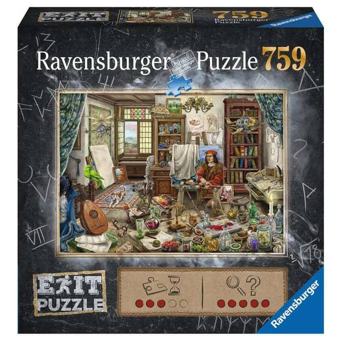 Puzzle - EXIT - Das Künstleratelier - 759 Teile