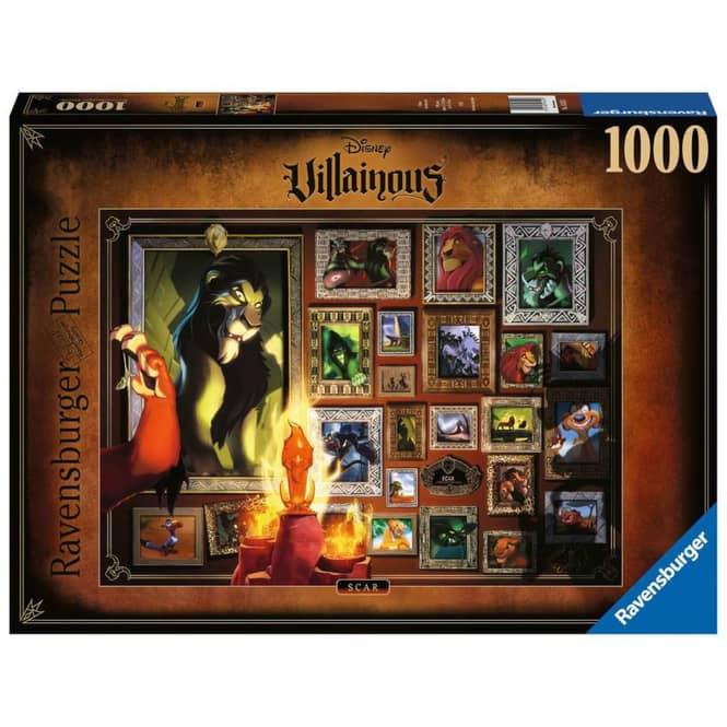 Puzzle - Disney Villainous -  Scar - 1000 Teile