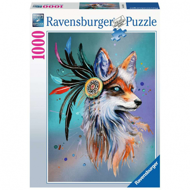 Puzzle - Boho Fuchs - 1000 Teile